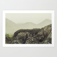 Cali Coast Fog Art Print