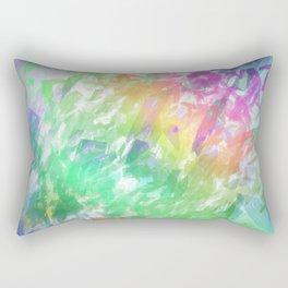 Shattered Rainbow Rectangular Pillow