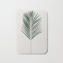 Areca Palm Branch Illustration Bath Mat