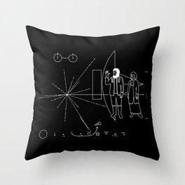 3978 A.D. Throw Pillow