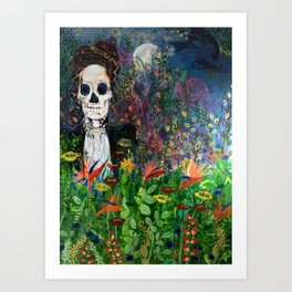 The cycle of Life and Death Art Print