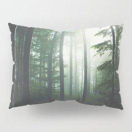 Dreary Black Pillow Sham