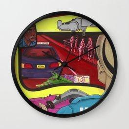 TUK TUK BANG COCK Wall Clock