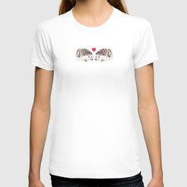 Hedgehog in love T-shirt
