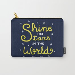 Shine Like Stars Carry-All Pouch