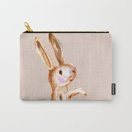 Bunny Zee: Sitting on Ready Carry-All Pouch