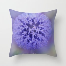 dreamy pastel flowers -5- Throw Pillow