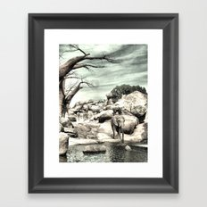 The Elephant Man Framed Art Print