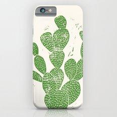 Linocut Cacti #1 iPhone 6s Slim Case
