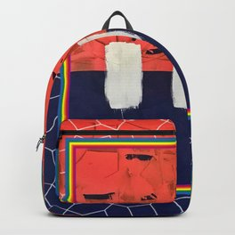 Stitch in Time - color square graphic Backpack