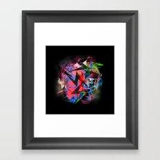 Abstract Electrics Framed Art Print