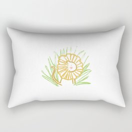 Jungle Lion Rectangular Pillow