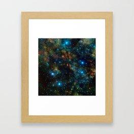 Star Formation Framed Art Print