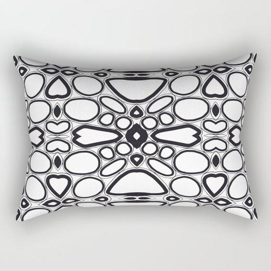 fancy grid Rectangular Pillow
