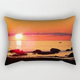Sailing into the Night Rectangular Pillow