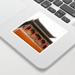 Forbidden City Building Sticker