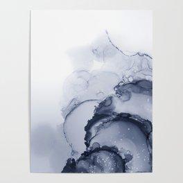 BLUE INK 88 Poster