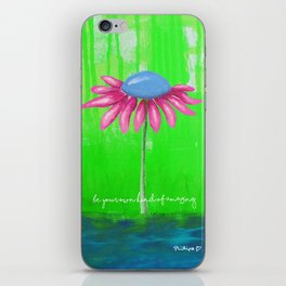 """""""Be Your Own Kind of Amazing"""" Original design by PhillipaheART iPhone Skin"""