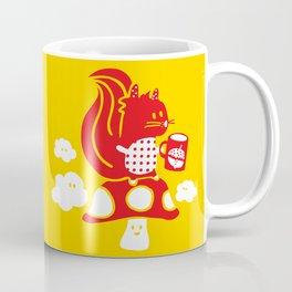 Squirrel teatime Coffee Mug