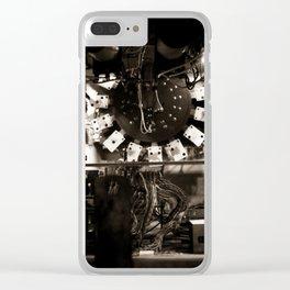 Inside A Pinball Machine Clear iPhone Case