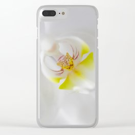 Orchid V Clear iPhone Case
