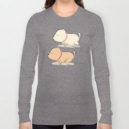 rocky running Long Sleeve T-shirt