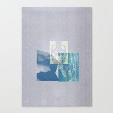 Portland Vase in Blue Canvas Print
