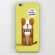 Little Boxer iPhone & iPod Skin