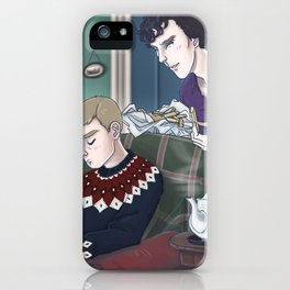 Late Lunch at 221B Baker Street iPhone Case