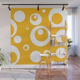 Circles Dots Bubbles :: Mango Wall Mural