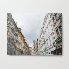 Prague City Metal Print