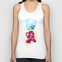 the last airbender Tank Tops featuring Steven Universe x Avatar The Last Airbender by Matereya