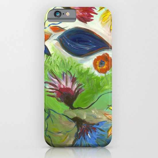 Flower Swirls iPhone & iPod Case