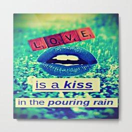Love is... Metal Print