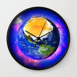 Eggstraterrestrial Wall Clock