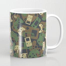 Gamer Camo WOODLAND Coffee Mug