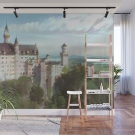 Neuschwanstein Castle Wall Mural