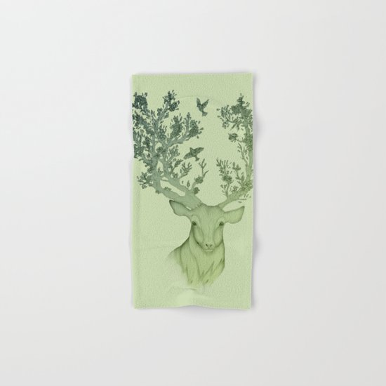 The Natural Progression? 1 of 3 in Green Hand & Bath Towel
