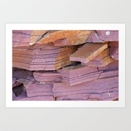 Sandstone Abstract Art Print