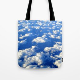 Blue Blue Sky by Lika Ramati Tote Bag