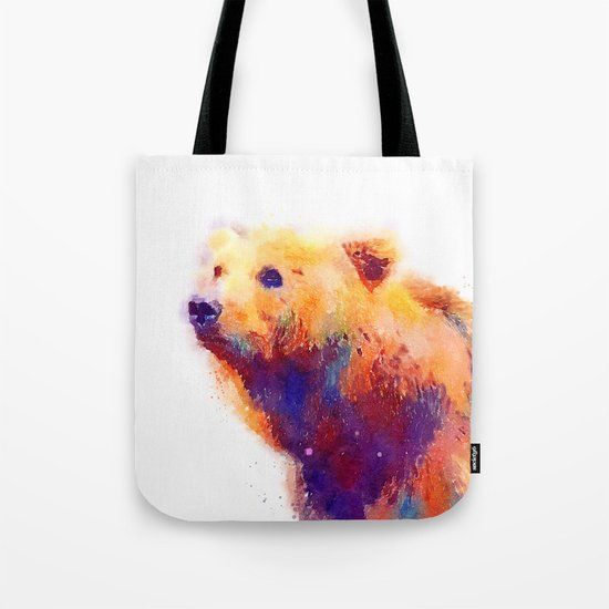 The Protective - Bear Tote Bag