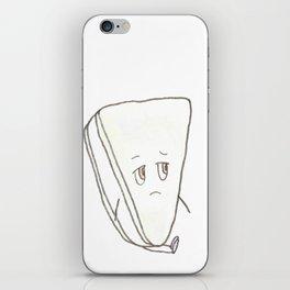 Uneasy Brie iPhone Skin
