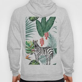 Nature Zebre pattern Hoody