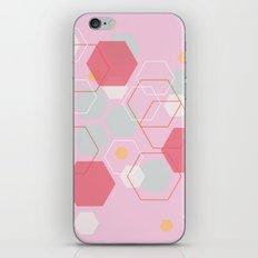 Hexagon Sweetarts iPhone Skin