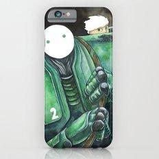 Moonbot #2: Green Slim Case iPhone 6s