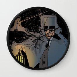 Lighthouse Man Wall Clock