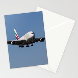 Emirates Airbus A380 Stationery Cards
