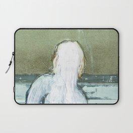 Sie hat die Nase gestrichen voll · Lost woman Laptop Sleeve