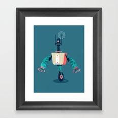 :::Mini Robot-Dynamo::: Framed Art Print