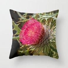FLORAL ODE Throw Pillow